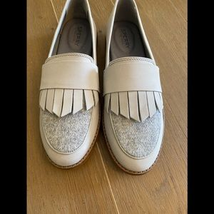 NEW Sperry grey loafers